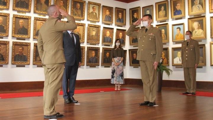 Coronel Dionei Tonet assume cargo de  comandante-geral da Polícia Militar de SC