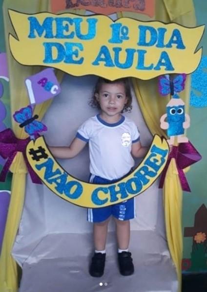 Cecília, 3 anos (Foto: @_neidinhasutero/Instagram)