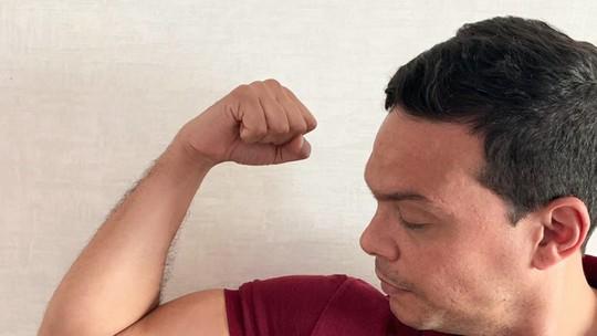Empreendedor faz tatuagem para comemorar prêmio de R$ 100 mil no 'Milionário'