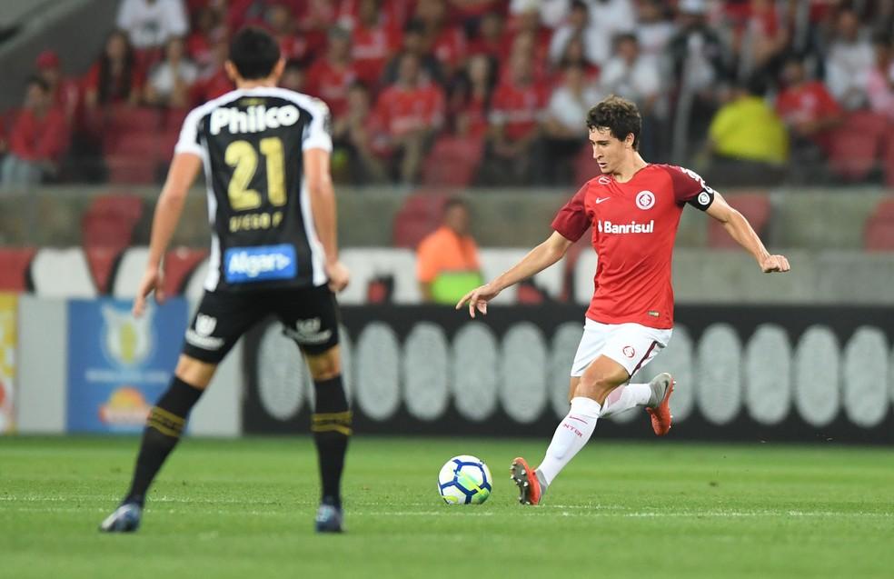 Rodrigo Dourado foi um dos destaques do Inter no Brasileirão — Foto: Ricardo Duarte / Inter, DVG