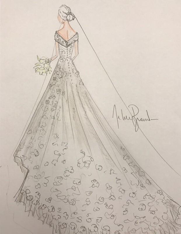 Vestido De Princesa De Tule Illusion Com 461 Flores