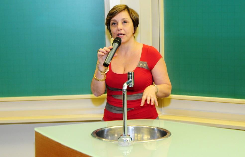 Eliana Amaral foi orientadora do estudo do vírus da zika em placentas na Unicamp. — Foto: Antonio Scarpinetti / Unicamp