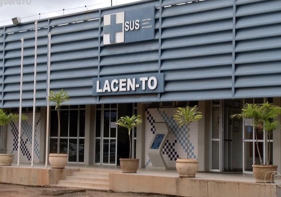 Testes foram enviados pelo Governo Federal ao Lacen do Tocantins — Foto: Reprodução/TV Anhanguera