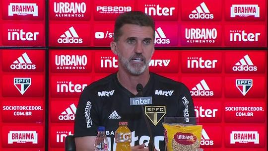Mancini diz assumir São Paulo para viabilizar acerto de Cuca, espera evolução e elogia Pato