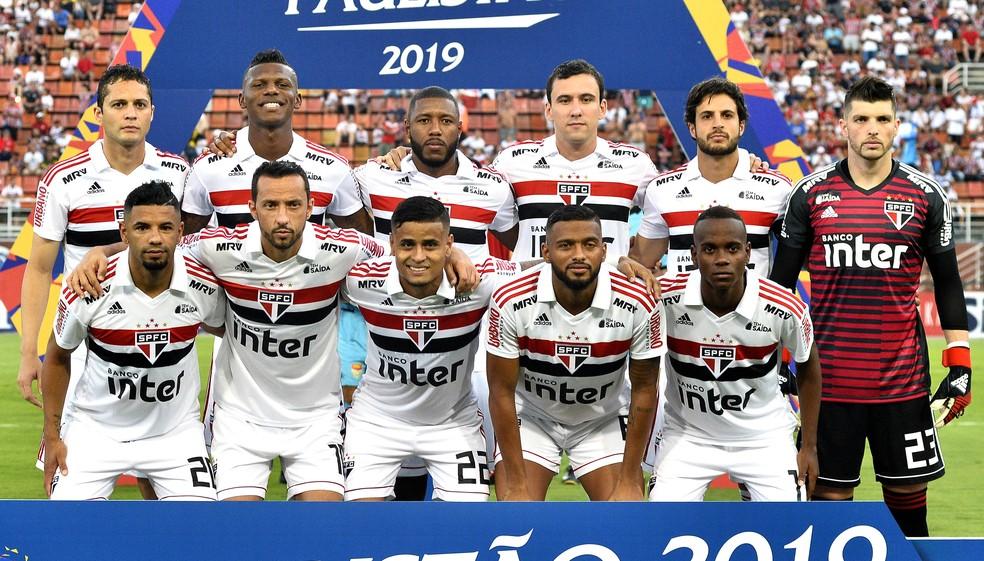 São Paulo estreia contra o Botafogo, em casa — Foto: Marcos Ribolli