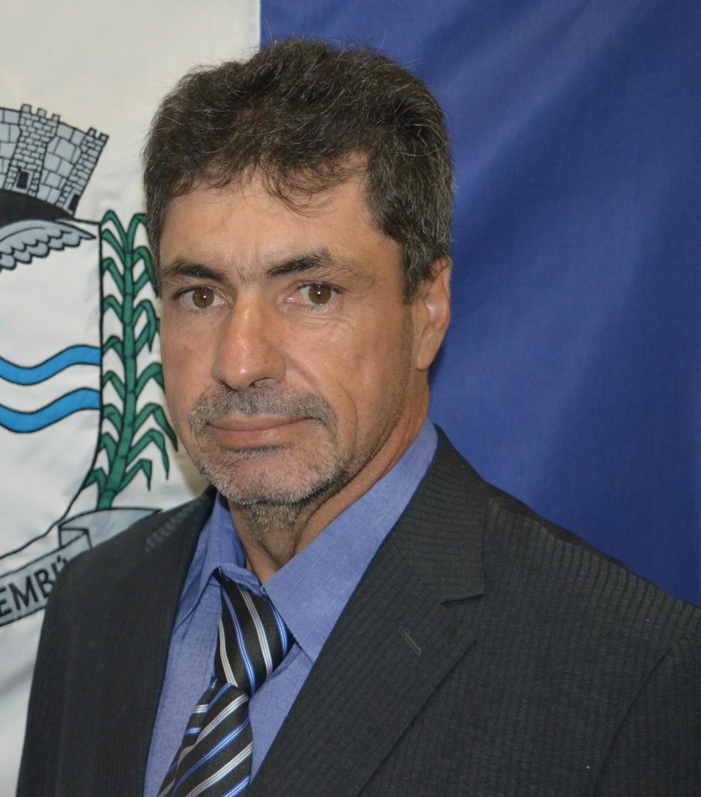 Edson Rinaldo Spirito, vereador de Dois Córregos, era produtor rural  — Foto: Arquivo pessoal