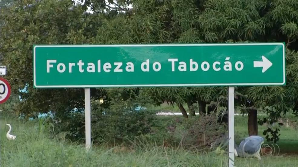 Fortaleza do Tabocão pode mudar de nome (Foto: TV Anhanguera/Reprodução)