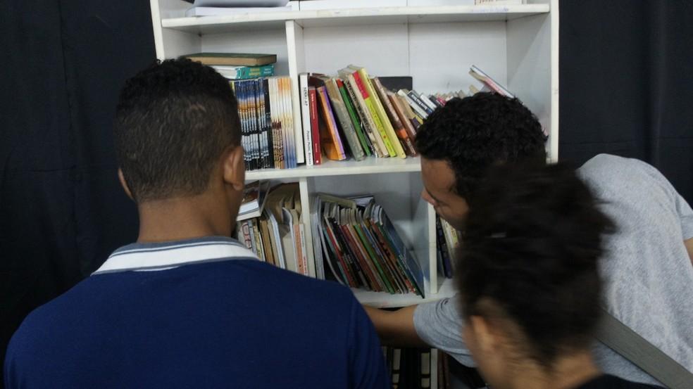 -  Participantes vão ter que atender desafios para levar algum livro do evento  Foto: Nexa/Divulgação