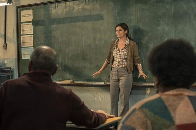 Debora Bloch em cena de 'Segunda chamada' (Foto: Mauricio Fidalgo/ TV Globo)