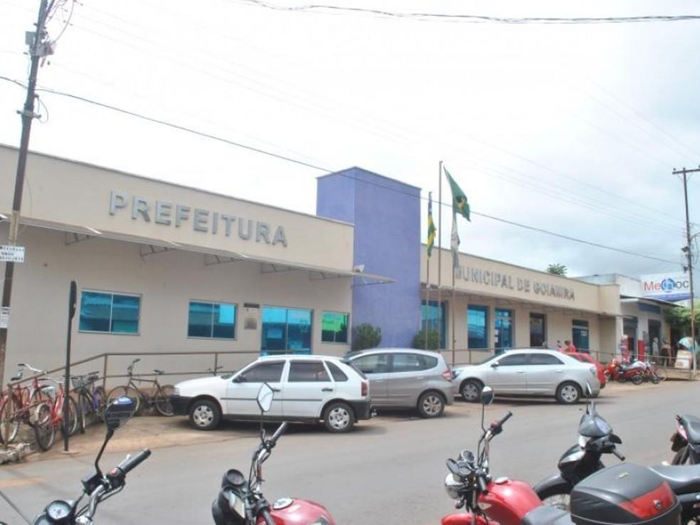 Prefeitura de Goianira está com concurso aberto para preencher 326 vagas — Foto: Reprodução/Prefeitura de Goianira