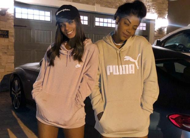 Brunna e Ludmilla (Foto: Reprodução)