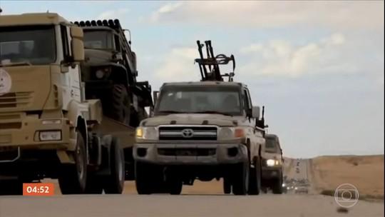 Ataques rebeldes deixam 43 mortos e mais de 60 feridos na Líbia