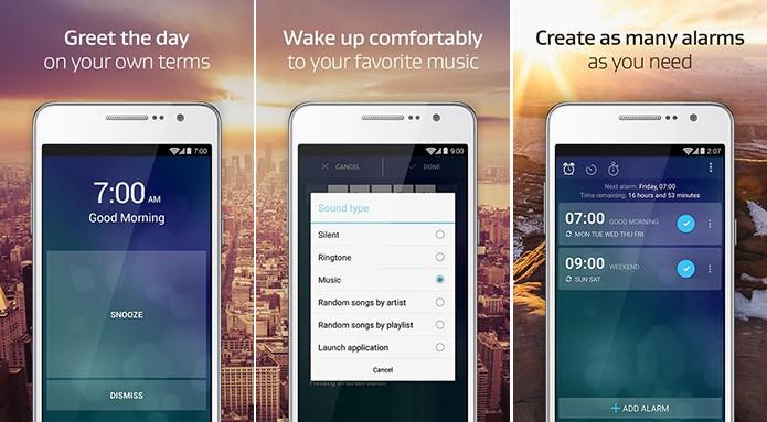 Despertador Extreme dificulta a vida dos dorminhocos de plantão (Foto: Divulgação/Play Store)
