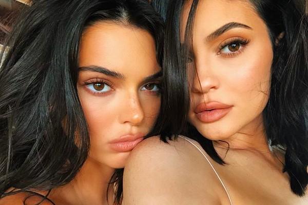A modelo Kendall Jenner e a socialite Kylie Jenner (Foto: Instagram)