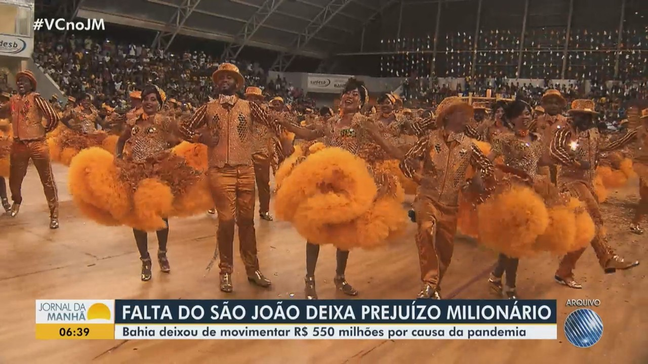 Estado deixou de movimentar mais de R$ 500 milhões este ano, sem os festejos juninos