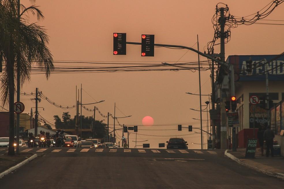 Doenças respiratórias, fumaça e animais mortos: veja o resultado das queimadas no Acre — Foto: Juan Diaz/Arquivo pessoal