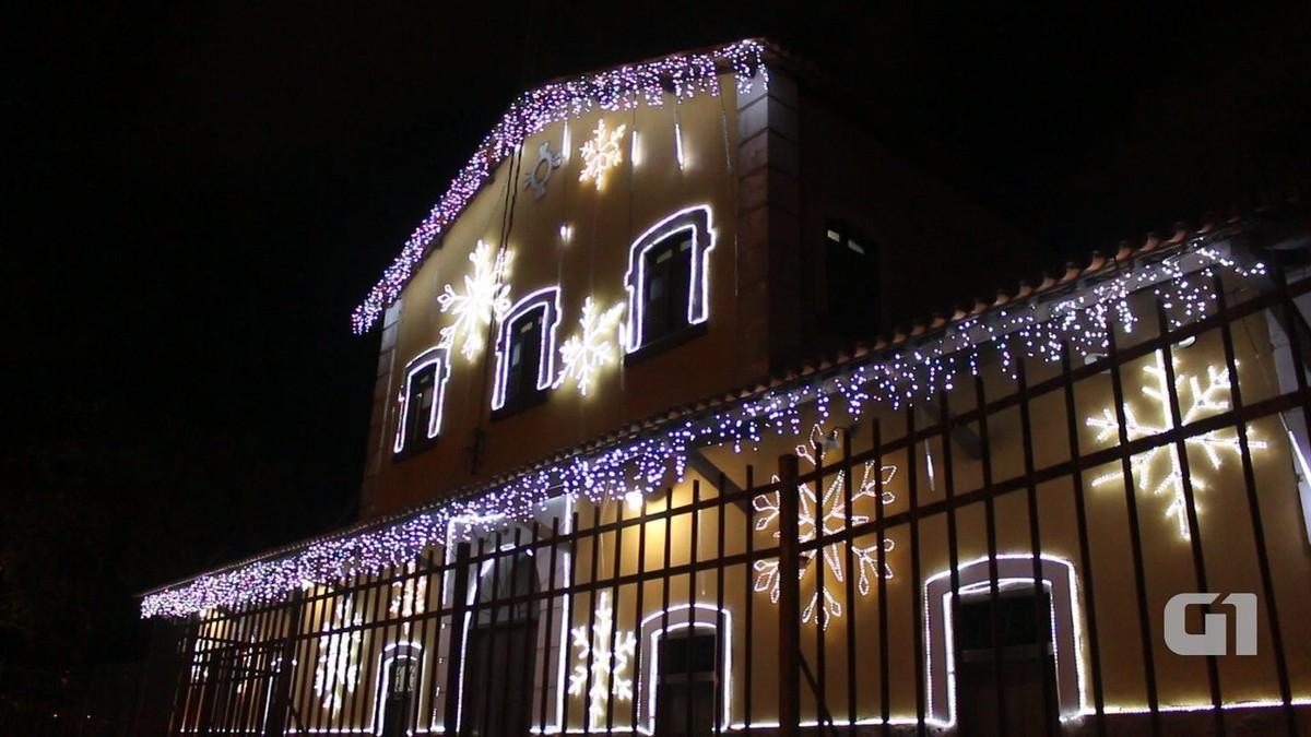 Campina Grande recebe iluminação especial para o Natal; veja vídeo