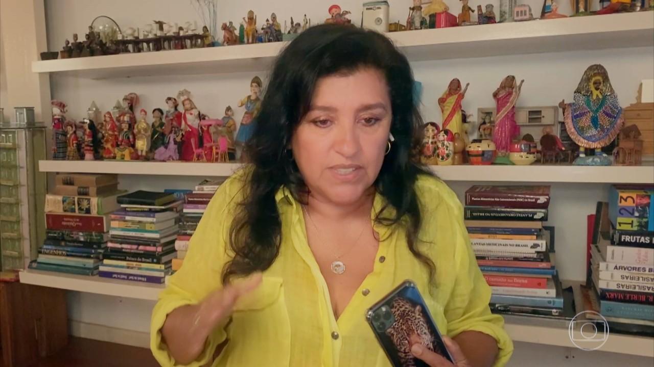 Regina Casé conta como foi gravar sozinha com rígidos protocolos de gravação
