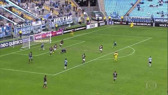 Grêmio perde, Palmeiras empata e São Paulo volta ao Z-4