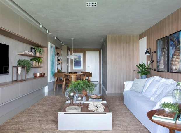 Arquiteta reforma apartamento alugado com soluções que podem ser reaproveitadas