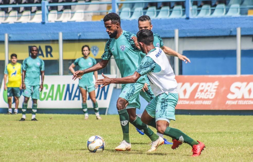 Diego Rosa deve ser relacionado pela primeira vez contra o Tombense — Foto: Jorge Luiz/Paysandu
