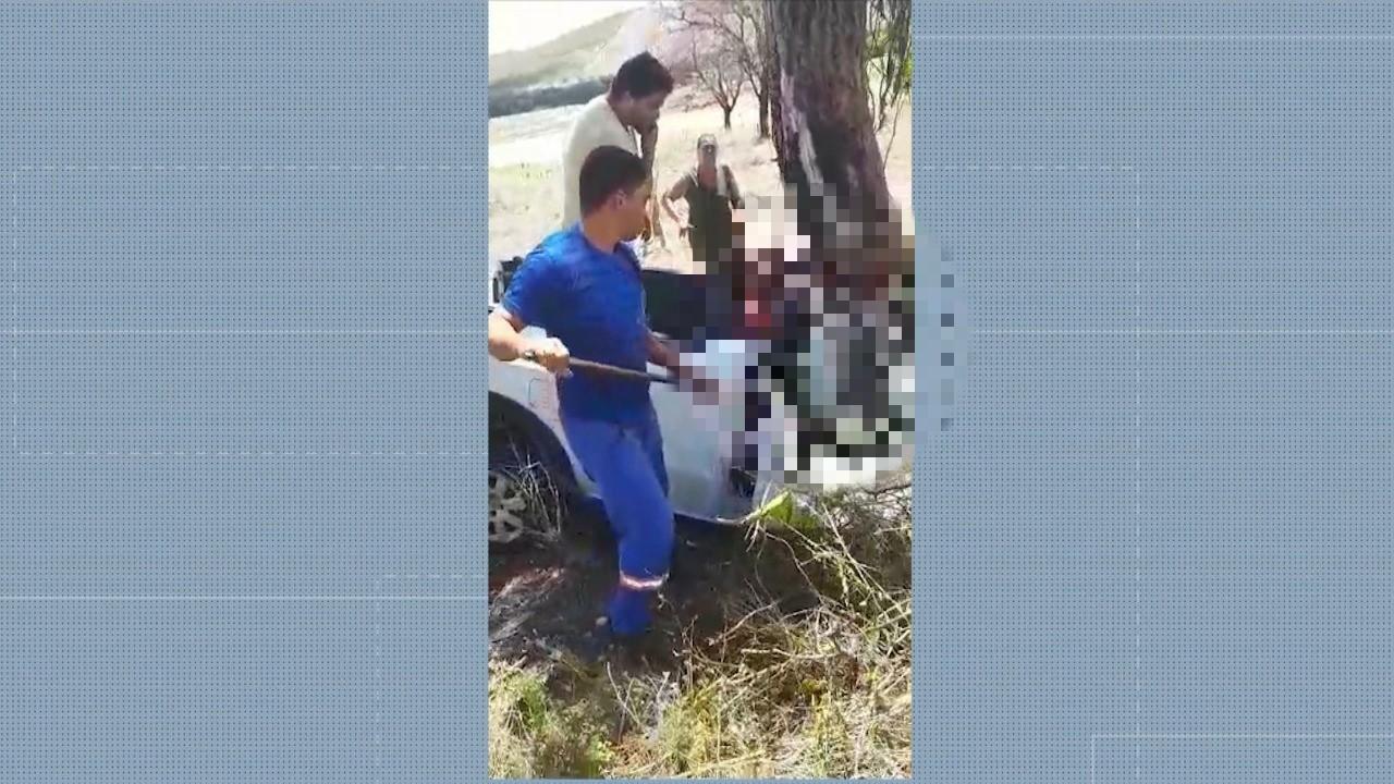 Motorista fica ferido depois de se envolver em acidente na BR-367  - Notícias - Plantão Diário