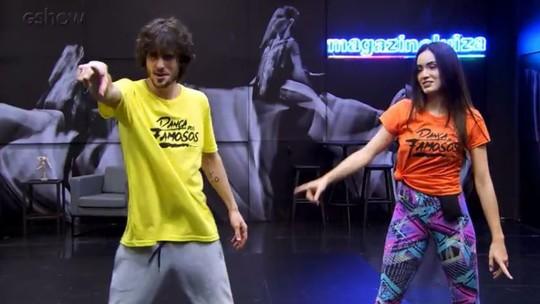 'Dança dos Famosos': confira os ensaios para o primeiro dia de apresentações