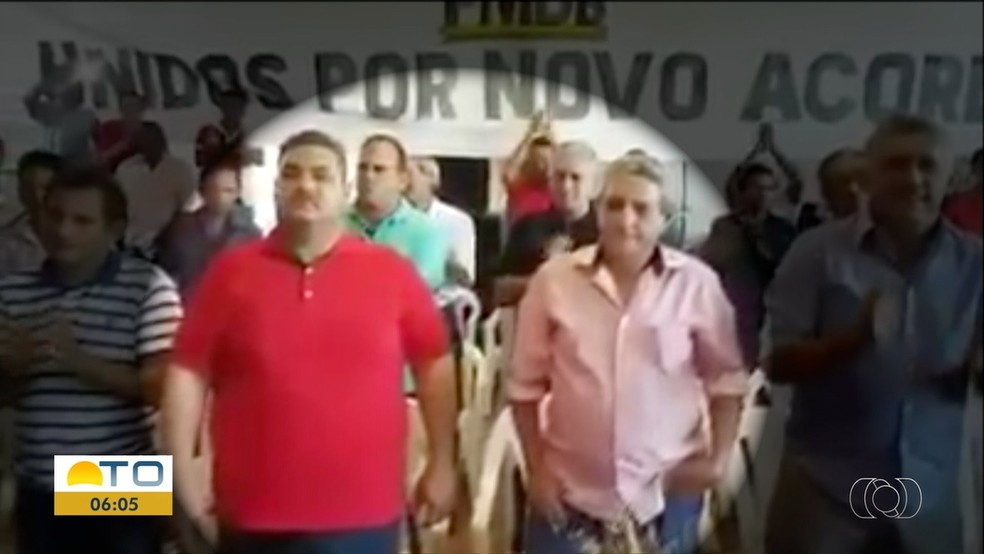Vice é suspeito de encomendar atentado a prefeito de Novo Acordo — Foto: Reprodução/TV Anhanguera
