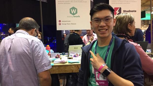 Anthony Cheah, cofundador da startup Easywork (Foto: Editora Globo)