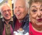 Moacyr Franco, Cid Moreira e Suely Franco usam o bom humor para se comunicar com os fãs no Instagram | Reprodução/Instagram