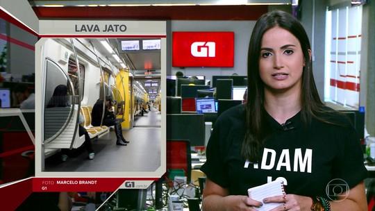 G1 em 1 Minuto: Camargo Corrêa revela cartel que operou por 16 anos em metrôs de 8 estados