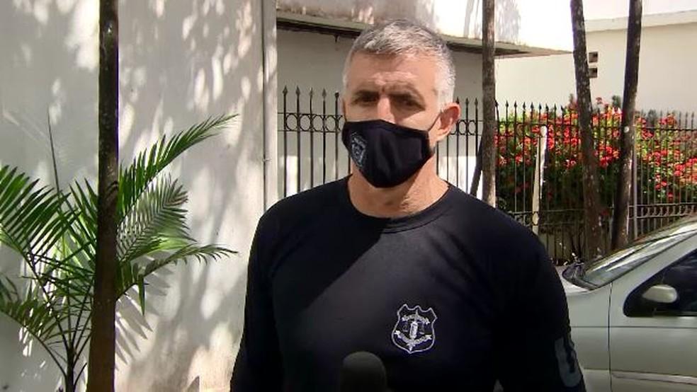Dante Ferreira, delegado responsável pelas investigações — Foto: Danillo Borralho/Rede Amazônica