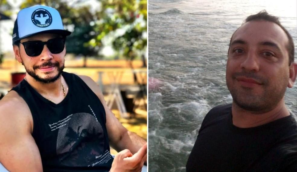Márcio Victor e Renato Bortolucci morreram em ataque de quadrilha a agências bancárias de Araçatuba (SP) — Foto: Arquivo pessoal