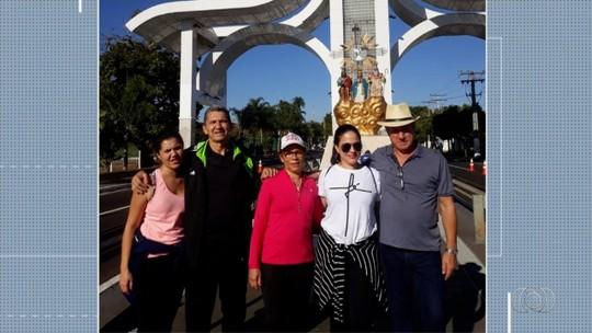 Telespectadores enviam fotos para da Romaria de Trindade para o Jornal Anhanguera