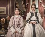 Melissa Nóbrega e Bruna Griphao como Leopoldina em 'Nos tempos do Imperador' | João Miguel Júnior/ TV Globo