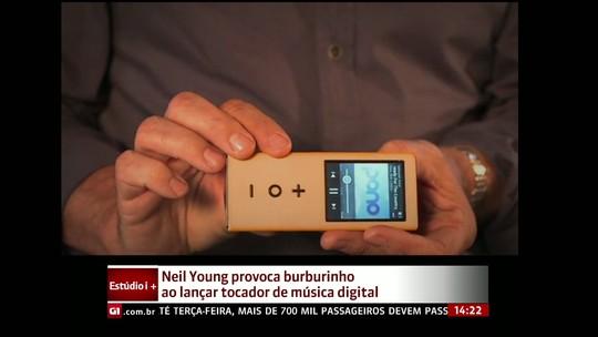 Neil Young provoca burburinho ao lançar tocador de música digital