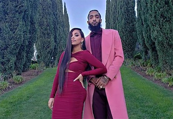 Lauren London e Nipsey Hussle (Foto: Instagram)