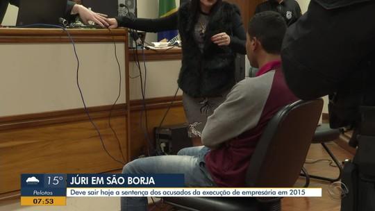 Retomado julgamento de dois réus acusados de envolvimento na morte de mulher em São Borja