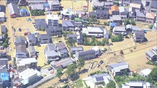 Número de mortes por fortes chuvas no Japão passa de 150