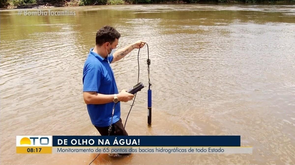 Força-tarefa monitora nível dos rios e qualidade da água nas 30 bacias hidrográficas do TO