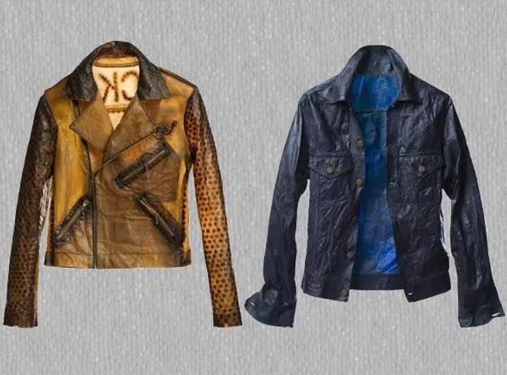 Jaquetas de Kombucha (Foto: divulgação)