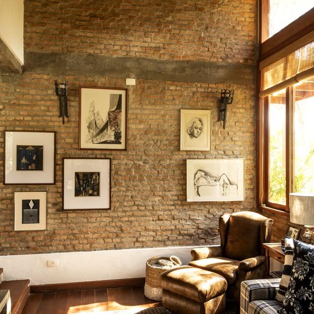 Casa em Campos do Jordão ganha vida nova após reforma (Foto: FOTOS ROMULO FIALDINI)