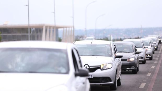 Uber, 99, táxi, trânsito, carro, carros, mobilidade (Foto: Marcelo Camargo/Agência Brasil)