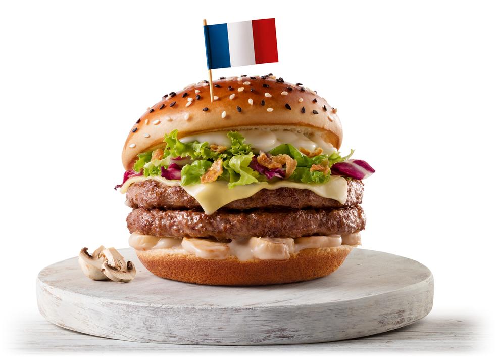 McFrança, um dos sanduíches que o McDonald's vai oferecer durante a Copa do Mundo (Foto: Divulgação)