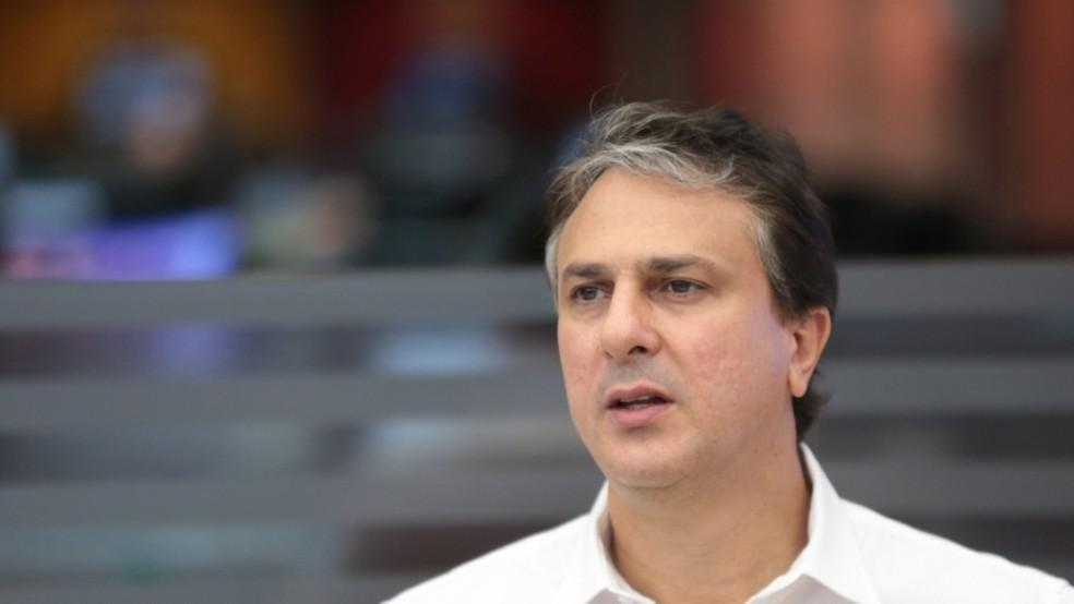 Camilo Santana já anunciou uma série de medidas para o Estado em decorrência da pandemia do novo coronavírus — Foto: SVM