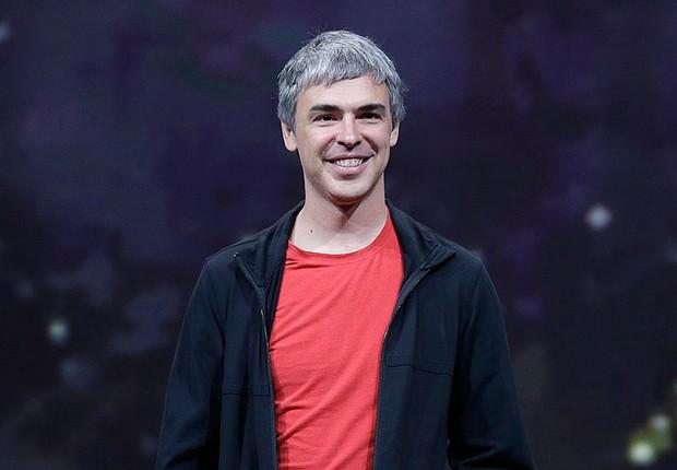 O fundador do Google, Larry Page (Foto: Justin Sullivan/Getty Images)