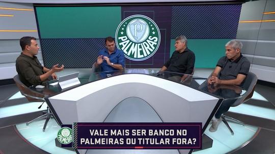 """Seleção SporTV discute: """"Vale mais ser banco no Palmeiras ou titular em outro time?"""""""