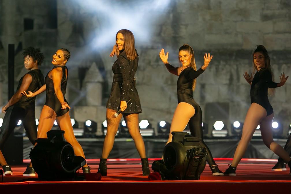 Ivete leva bailarinas a show em comemoração aos 15 anos do Rock in Rio Lisboa — Foto: Divulgação/Rock in Rio