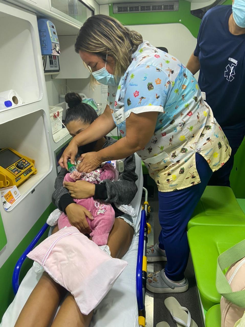 Recém-nascida internada na UPA de Araruama é transferida para hospital no Rio de Janeiro