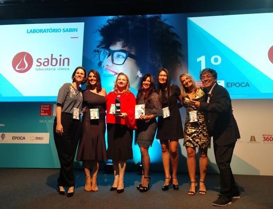 Laboratório Sabin vende, pela segunda vez, como melhor empresa de grande porte para as mulheres trabalharem (Foto: Paula Soprana)
